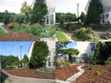 Rekonstrukce rodinné zahrady - Radčice